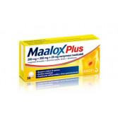 MAALOX Plus 200 mg + 200 mg + 25 mg  | 30 Compresse Masticabili - Aroma limone