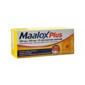 MAALOX Plus  200 mg + 200 mg + 25 mg | 50 Compresse Masticabili  - Aroma limone
