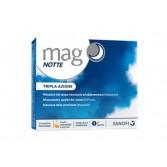 Mag NOTTE 24 bustine | integratore di Magnesio con Melatonina Griffonia e Triptofano | MAG