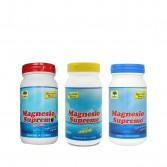Magnesio polvere 150 g | Integratore gusto neutro/ limone/ ciliegia | MAGNESIO SUPREMO