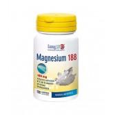 MAGNESIUM 188 mg 100 Compresse | Integratore con 5 Sali di Magnesio | LONGLIFE