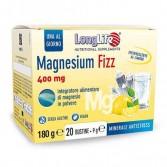 MAGNESIUM FIZZ 20 Bustine | Integratore di Magnesio Citrato | LONGLIFE