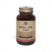 Merl Oil A&D 100 perle softgel | Integratore di Vitamina A e D | SOLGAR