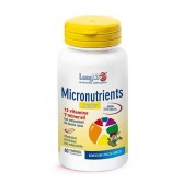 MICRONUTRIENTS JUNIOR 60 Tavolette | Integratore Multivitaminico Minerale per ragazzi | LONLIFE