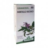 MIRTILLO ROSSO 48 Macerato Glicerico | Gocce per le vie urinarie 50 ML | SPECCHIASOL
