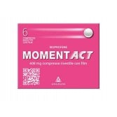 MOMENT 400 mg cpr Rosa | 6 Compresse Rivestite