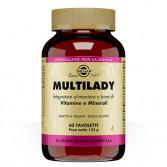 Multilady 60 Tavolette | Vitamine e Minerali per la donna | SOLGAR