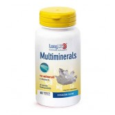 MULTIMINERALS 60 Tavolette | Integratore salino | LONGLIFE