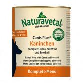 KANINCHEN | Coniglio, broccoli e selvaggina 820 g cod.2340 | NATRAVETAL - Canis Plus