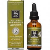 Olio Rinforzante Rivitalizzante | Nature's Hair Miracle 50 ml | APIVITA Capelli