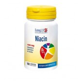 Niacin 100 cpr | Integratore di vitamina B3 | LONGLIFE