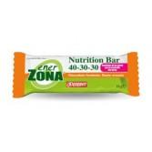 NUTRITION BAR 40-30-30 CIOCCOLATO E ARANCIA | Barretta 2 Blocchi Cioccolato fondente e Arancia 50 g | ENERZONA
