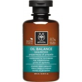 Shampoo Sebo Regolatore menta e propoli | Oil Balance 250 ml | APIVITA Capelli