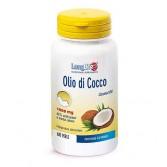 OLIO DI COCCO 1000 mg funzione energetica 60 PERLE | LONGLIFE