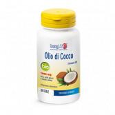 OLIO DI COCCO BIO 1000 mg funzione energetica 60 PERLE | LONGLIFE