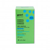 Omega, Omega, Omega! 60 Perle sofotgel | Integratore Oro Vegetale | GOOVI Hunziker