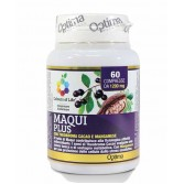 Maqui Plus 60 cpr | Integratore Tonico Antiossidante | OPTIMA NATURALS Colours of Life