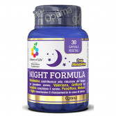 Night Formula 30 capsule | Integratore sonno | OPTIMA NATURALS