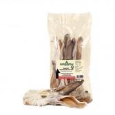 ORECCHIE DI CONIGLIO CON PELO | Snack Croccante 100 g cod.4105 | NATURAVETAL - Canis Plus