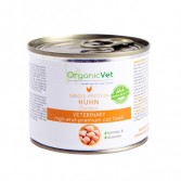 HUHN POLLO  200 g | Cibo umido monoproteico pollo per GATTI | ORGANIC VET