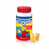 CARAMELLE GOMMOSE 60 pezzi  | Vitamine per bambini  | ORSOVIT