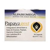 PAPAYA GEST Funzione Digestiva 30 CPS | ALFABIOMEGA