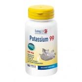 POTASSIUM 99 100 tav|  Integratore alimentare di potassio | LONGLIFE