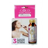 PURE WEEKEND 30 Flaconcini | Integratore liquido di Collagene | GOLD COLLAGEN