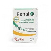 RENAL P Polvere | Mangime Complementare Funzione Renale CANI e GATTI 70 g | CANDIOLI