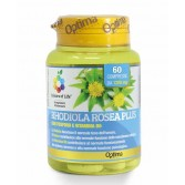 RHODIOLA ROSEA PLUS 60 Compresse | Integratore Tono dell'Umore | OPTIMA NATURALS