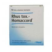 RHUS TOX. HOMACCORD | 10 Fiale omeopatiche | GUNA  Heel
