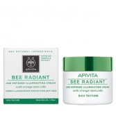 CREMA ANTIAGE RICCA Illuminante | RICH TEXTURE CREAM 50 ml | APIVITA Bee Radiant