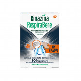 RINAZINA RespiraBene | 10 Cerotti nasali Extra Forti