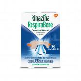 RINAZINA RespiraBene | 30  Cerottini nasali Classici