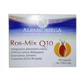 ROS MIX Q10 30 Capsule | Integratore Benessere Organismo | ALFABIOMEGA