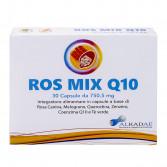 ROS MIX Q10 30 Capsule | Integratore Benessere Organismo | ALKADAE