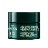 Maschera Viso Semi di Sesamo | Trattamento detox illuminante 50 ml | NUXE Bio Organic