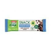 SNACK 40-30-30 CRUNCHY CHOCO | Barretta Cioccolato Fondente 33 g | ENERZONA