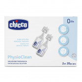 Chicco Physioclean - Soluzione fisiologica sterile| 20 flaconcini 2 ml