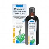 DOLCE NOTTE 100 ml | Soluzione orale calmante per tosse e gola | DR.THEISS - Mucoplant