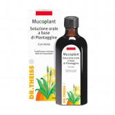 SOLUZIONE ORALE PIANTAGGINE 250 ml | Fluidificante catarro | DR.THEISS - Mucoplant