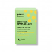 STRONGER, BETTER, LONGER 60 Compresse | Integratore Capelli e Unghie | GOOVI