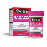 Ragazza Multivitaminico 60 cpr | Integratore con vitamine e sali minerali | SWISSE