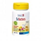 SX FACTORS 60 cps veg | Integratore Benessere Psicofisico|  LONGLIFE