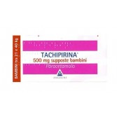 TACHIPIRINA Supposte 500 mg BAMBINI | 10 Supposte