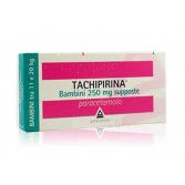 TACHIPIRINA Supposte 250 mg BAMBINI | 10 Supposte