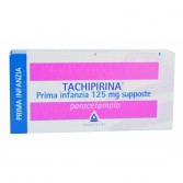 TACHIPIRINA Supposte 125 mg PRIMA INFANZIA | 10 Supposte