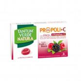 Tantum Verde Natura Frutti di bosco | 15 pastiglie gommose per il mal di gola | ANGELINI