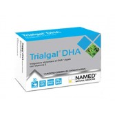TRIALGAL DHA  30 capsule molli | Integratore per la funzione cerebrale | NAMED