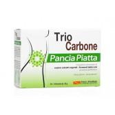 TRIO CARBONE PANCIA PIATTA 10 bustine enzimi + 10 bustine probiotici | POOL PHARMA
